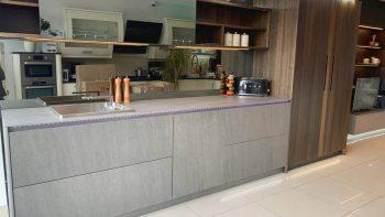 Ex Display Doca Milano Wood Veneer Kitchen