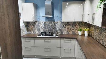 Ex Display Hacker Classic Terra Oak & Cashmere Kitchen & Laminate Worktops