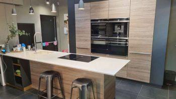 Schmidt Arcos Santiago Oak Melamine & Caneo Matt kitchen