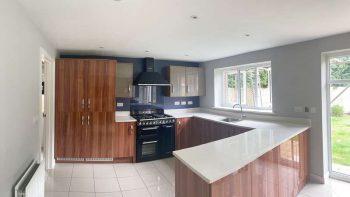 XL Symphony Cherry Wood Gloss + Basalt Grey Kitchen & Utility Room