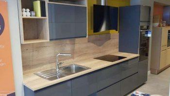 Ex Display Mobalpa IRIS Gloss Graphite Kitchen