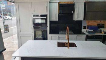 PWS Shaker Mornington Beaded Dove Grey Kitchen