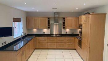 Alno Immaculate Shaker Kitchen Neff Appliances Granite Worktops