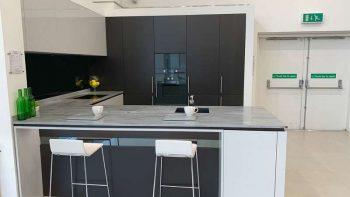 Ex Display Porcelanosa - Gaggenau Onyx & Alabastro Kitchen